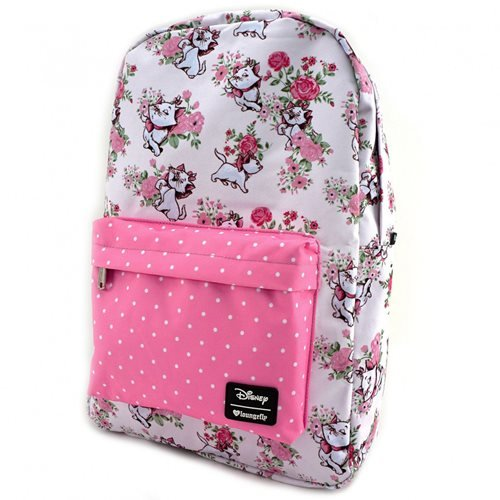 The Aristocats Marie Floral Print Nylon Backpack