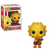 Simpsons Lisa Saxophone Pop! Vinyl Figure, Not Mint