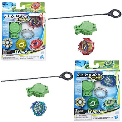 Beyblade Burst Slingshock Rip Fire Tops Wave 1 Case