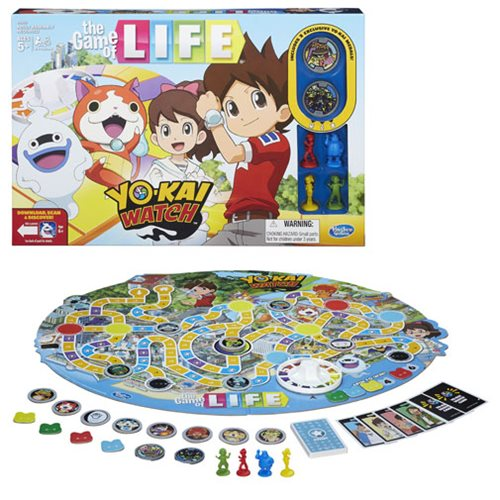 Yo-Kai Watch Edition Game of Life