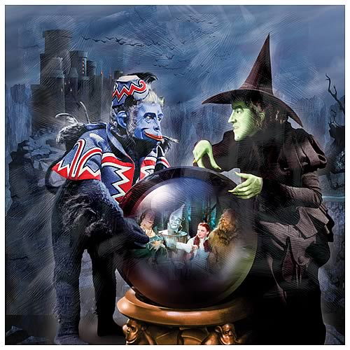 Wizard Of Oz Wicked Witch In Castle Canvas Art