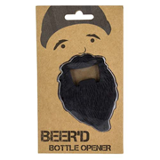 Beard Bottle Opener Key Chain
