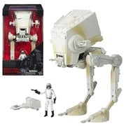 Star Wars: The Black Series AT-ST Vehicle with 3 3/4-inch Driver Action Figure, Not Mint