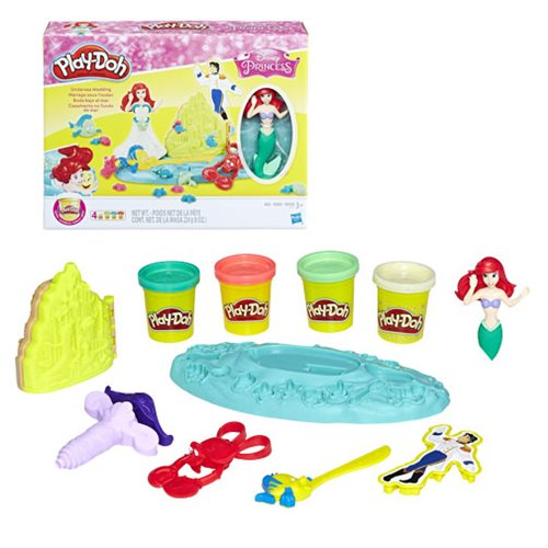 Disney Princess Play-Doh Undersea Wedding with Ariel