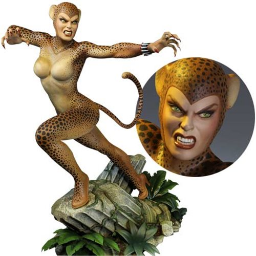 DC Super Powers Cheetah Maquette Statue
