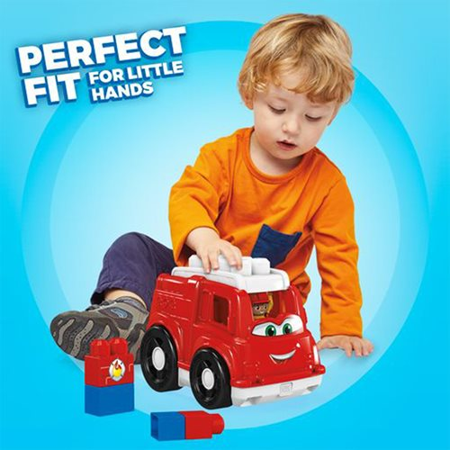 Mega Bloks Lil Vehicles Freddy Firetruck