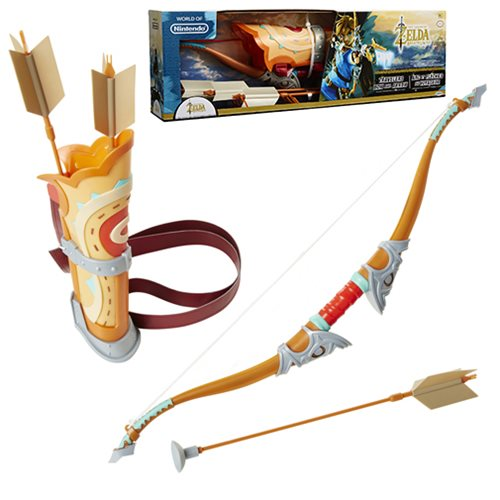 Legend of Zelda Breath of the Wild Bow and Arrow Role Play Set