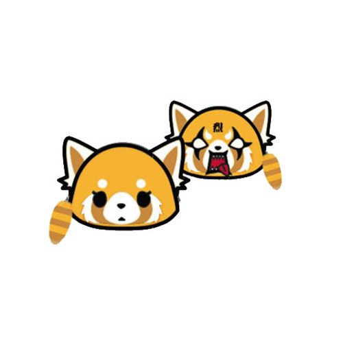 Aggretsuko 2 Face Coin Bag