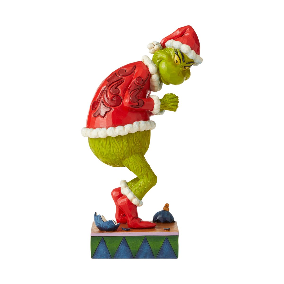 Dr Seuss The Grinch Sneaky Grinch Statue By Jim Shore