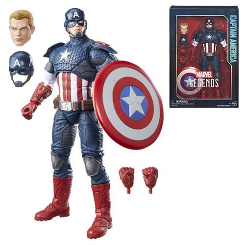 Marvel Legends 12-Inch Captain America Figure, Not Mint