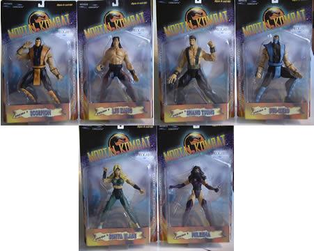 7 inch Mortal Kombat Set
