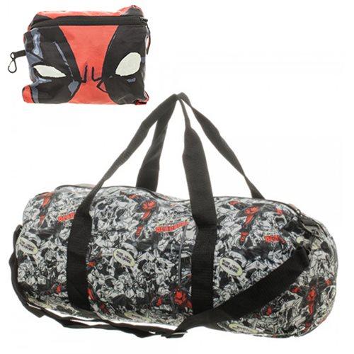 Deadpool Packable Duffle Bag