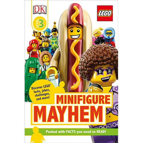 LEGO Minifigure Mayhem DK Readers 3 Hardcover Book