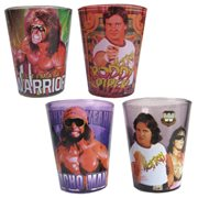WWE Superstar Legends Mini-Glass 4-Pack