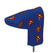 Superman Multi Logo Putter Golf Club Cover