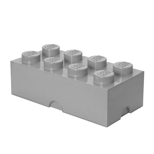 LEGO Medium Stone Grey Storage Brick 8