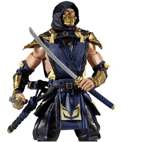 Mortal Kombat Scorpion and Raiden 7-Inch Action Figure 2-Pack