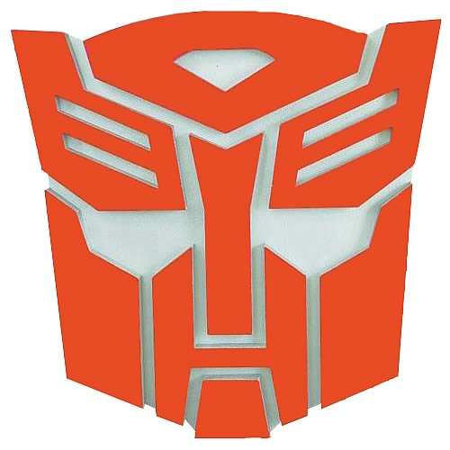 Transformers Autobot Logo Wall Plaque Entertainment Earth