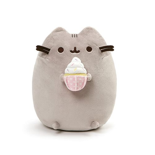 Pusheen The Cat Pusheen Sprinkle Cupcake 9 1/2-Inch Plush