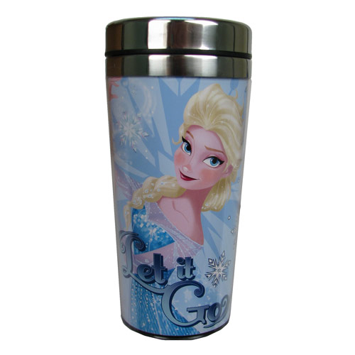 Disney Frozen Elsa Let it Go Stainless Steel 16 oz. Travel Mug