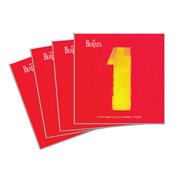 Beatles 1 Compilation Album 4-Inch Ceramic Coaster 4-Pack