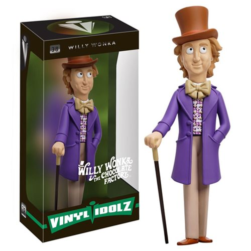 Willy Wonka and the Chocolate Factory Willy Wonka Vinyl Idolz Figure