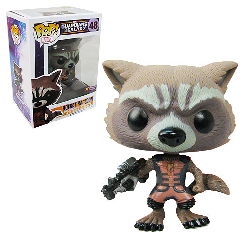 Guardians of the Galaxy Rocket Raccoon Ravagers Pop! Vinyl Bobble Figure - Previews Exclusive