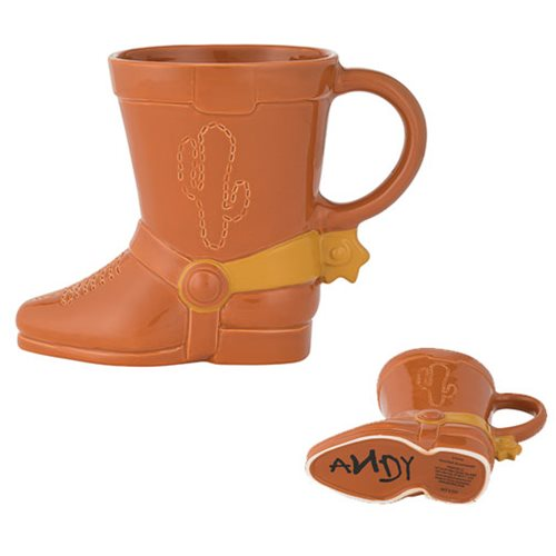 Disney Toy Story Woody Boot Sculpted Ceramic Mug