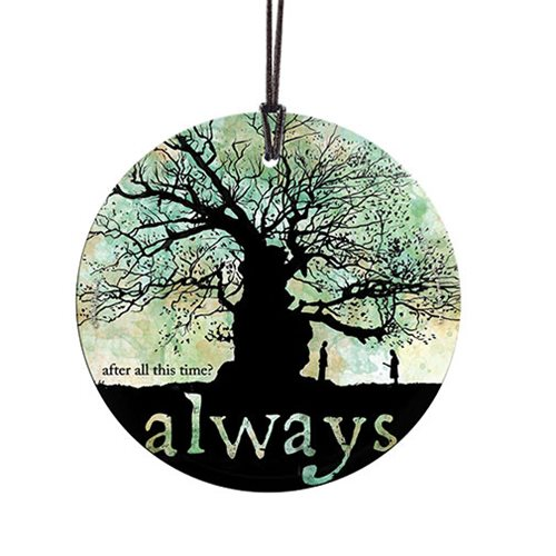 Harry Potter Always StarFire Prints Hanging Glass Ornament