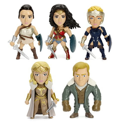 Wonder Woman Movie 2 1/2-Inch Metals Mini-Figures Case