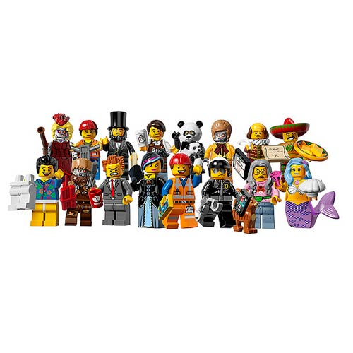 LEGO 6059278 Minifigures Series 12 10-Pack