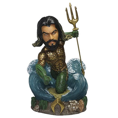 Aquaman 2018 Movie Signature Series  10-Inch Resin Bobble Head