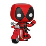 Deadpool and Scooter Pop! Vinyl Vehicle