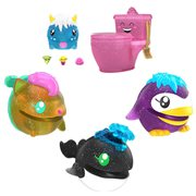 Pooparoos Surprisearoos Pink Glitter Toilet Mini-Figure Case