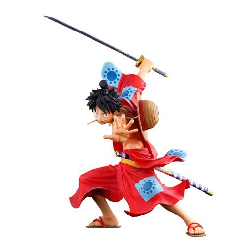One Piece Monkey D.Luffy Banpresto World Colosseum 3 Super Master Stars Piece Statue