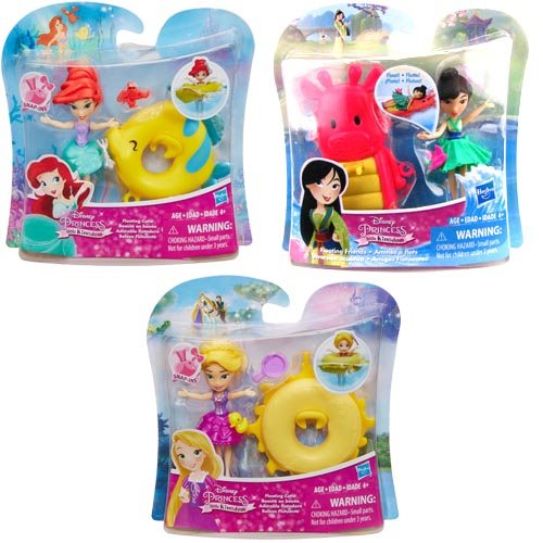 Disney Princess Floating Cutie Small Water Dolls Wave 2