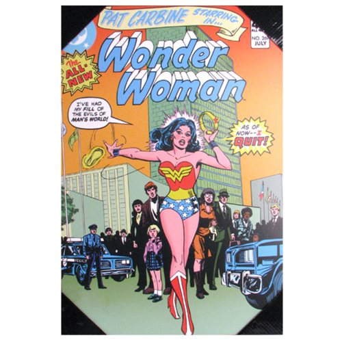 Wonder Woman Quit Wood Wall Art