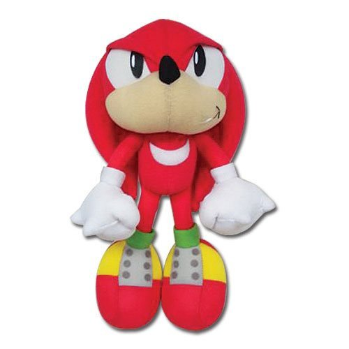 Sonic the Hedgehog Knuckles 10-Inch Plush