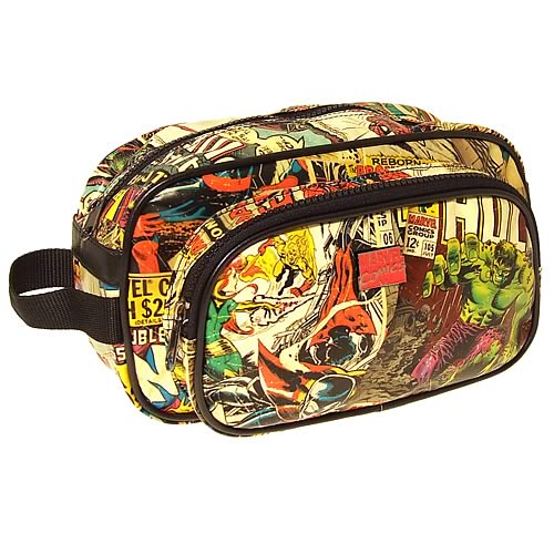 Marvel Retro Collection Toiletry Bathroom Bag