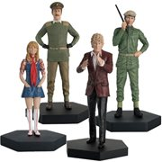 Doctor Who Third Doctor Companion Collection #12 Figures Set of 4 with Collector Magazine