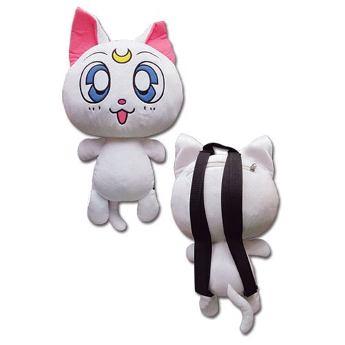 Sailor Moon Artemis 12 1/2-Inch Plush Backpack