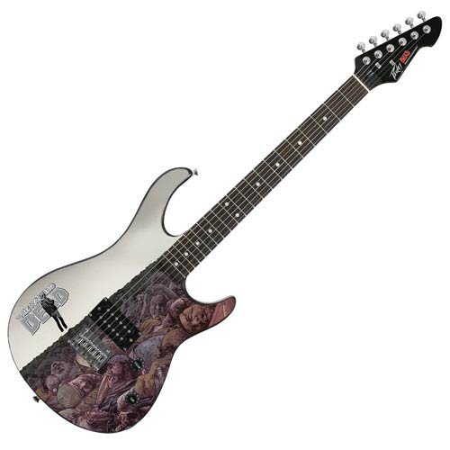 The Walking Dead Issue 100 Cover Rockmaster Electric Guitar
