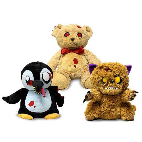 Zombies Series 3 Creepy Cuddlers Plush Set
