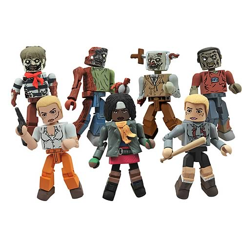 AMC/'S The Walking Dead BETH Series 2 Chibis Mini Figure Mint Loose