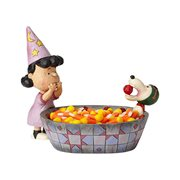 Peanuts Halloween Candy Dish Statue by Jim Shore