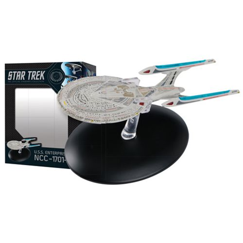 Star Trek Starships Best Of Figure #8 U.S.S Enterprise E Vehicle