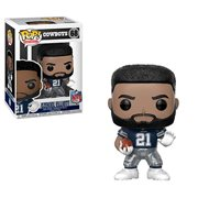 NFL Ezekiel Elliott Cowboys Away Pop! Vinyl Figure #68