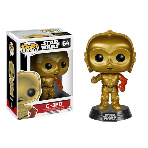 Star Wars: Episode VII - The Force Awakens C-3PO Pop! Vinyl Bobble Head