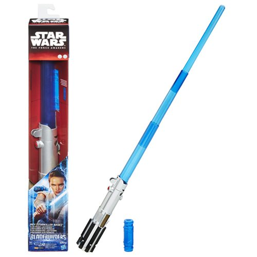 Star Wars The Force Awakens Rey's Electronic Lightsaber, Not Mint