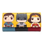 DC Heroes Pop! by Loungefly Flap Wallet